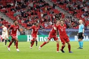 Fussball: Ausgerechnet Martinez! Bayern gewinnt den Supercup