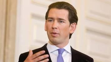 Österreich: kanzler kurz verkündet après-ski-verbot