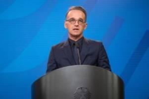 Aus der Quarantäne: Maas dringt auf Gespräche zwischen Israel und Palästinensern