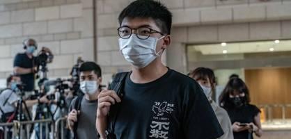pekings botschaft hinter der verhaftung von joshua wong