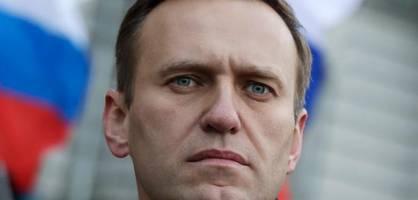 Russland friert Konten von Oppositionspolitiker Nawalny ein