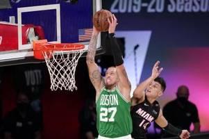 nba-playoffs: theis mit den celtics vor dem aus