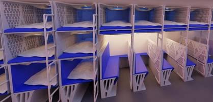 beim fliegen im stockbett schlafen – airlines tüfteln an neuen ideen