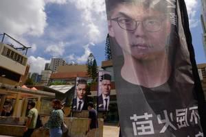 Menschenrechte:Bekannter Hongkonger Aktivist Joshua Wong festgenommen