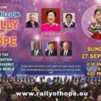 universal peace federation (upf) veranstaltet 2. online-rally of hope Über 1 million teilnehmer erwartet
