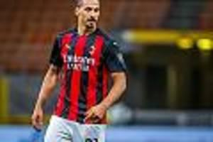 Fußballstar infiziert - AC Mailand bestätigt: Stürmerstar Ibrahimovic positiv auf Corona-Virus getestet