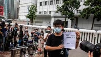 Hongkonger Demokratie-Aktivist Wong wieder frei