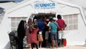 unhcr: un-flüchtlingshilfswerk finanziell schlecht ausgestattet