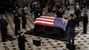 washington d.c.: ruth bader ginsburg mit zeremonie im us-kongress geehrt