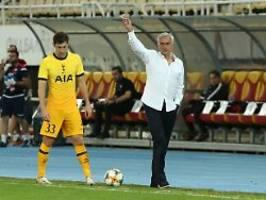 Mini-Tore in der Europa League: Verwirrter Mourinho fühlt sich riesig