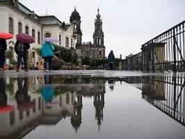 Regen und sogar Schnee: Der Herbst fährt Karussell über Deutschland
