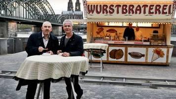 Ein Stück TV-Geschichte: Stamm-Wurstbude der Kölner «Tatort»-Kommissare im Museum