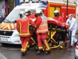 vier verletzte bei messer-angriff in paris