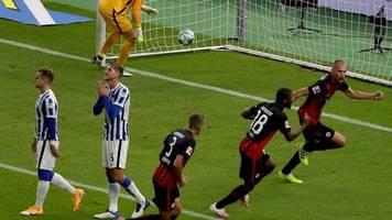 2. Spieltag: Frankfurt schockt Fan-Rückkehrer: Sieg bei Hertha BSC