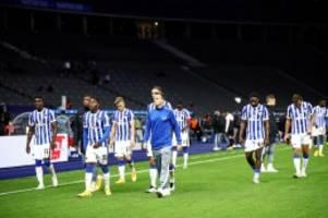 Hertha verliert zu Hause gegen Frankfurt 1:3
