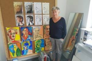 Kunst: Künstlerinnen arbeiten seit einem Jahr auf Schwanenwerder