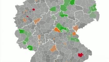 Pandemie-Lage: Wo sich das Coronavirus in Deutschland aktuell besonders stark verbreitet