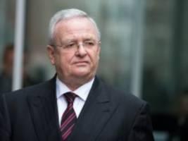 Ex-Volkswagen-Chef vor Gericht: Winterkorn macht voraussichtlich Gesundheitsprobleme geltend