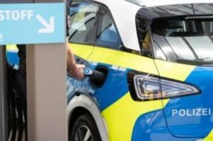 polizei: polizei zieht positive bilanz von wasserstoff-streifenwagen