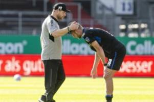 Fußball: Baumgart vor HSV-Spiel zuversichtlich: Paderborn will Sieg