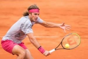 Tennis: Tsitsipas im Halbfinale beim Tennis-Turnier in Hamburg