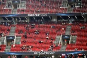 UEFA-Supercup: Sicherheitsvorkehrungen bei Bayern-Sieg nicht eingehalten