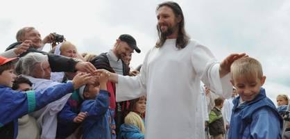 """spezialeinheiten nehmen """"jesus von sibirien"""" fest"""