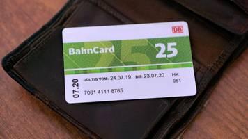 bahncard 25 wird so günstig wie noch nie: sonderangebot im oktober