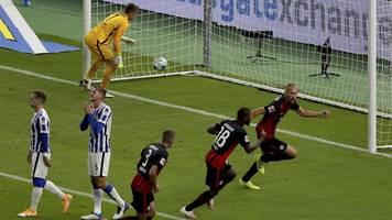 2. Spieltag - Frankfurt schockt Fan-Rückkehrer: Sieg bei Hertha BSC