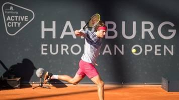 Tennis: Grieche Tsitsipas im Halbfinale beim ATP-Turnier in Hamburg