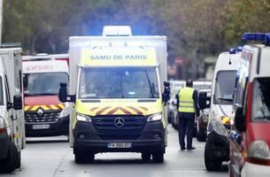 """Paris: Attacke vor altem Gebäude von """"Charlie Hebdo"""" – Verletzte"""