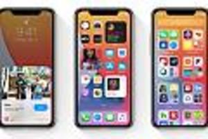 iphone-software - apple rollt neues update für ios 14 aus, das software-bugs beheben soll