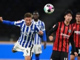Hertha BSC gegen Frankfurt: Billige Gegentore mehren die Zweifel
