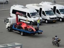 Nächste Klatsche im Qualifying: Vettel crasht hart, Leclerc scheitert früh