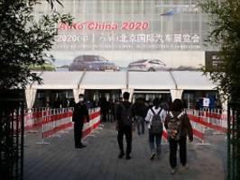 Peking-Messe als Rettungsanker: Autobauer setzen Hoffnung in China
