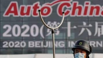 messe beginnt in peking: corona im griff: autobauer hoffen auf china