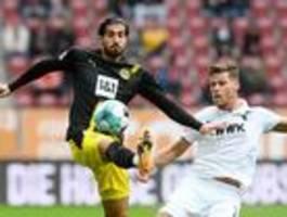 Borussia Dortmund verliert 0:2 beim FC Augsburg