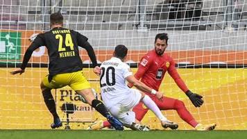 Bundesliga: BVB lässt die Punkte in Augsburg - auch Gladbach enttäuscht