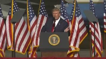 Video: Trump warnt vor Monaten ohne Bekanntgabe eines Wahlsiegers