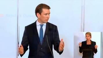Video: Österreichs Kanzler Kurz sorgt sich um die kommende Wintersaison