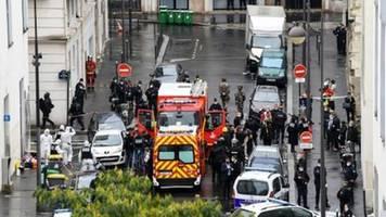 Zwei weitere Festnahmen nach Angriff vor früherem Charlie Hebdo-Büro in Paris