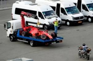 Formel 1: Vettel crasht im Qualifying - Hamilton wieder vorne