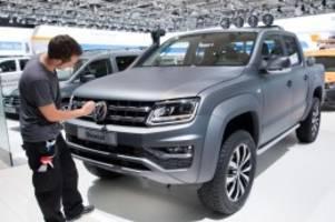 Kraftfahrt-Bundesamt: Rückruf für VW Amarok - Problem bei weltweit 200.000 Autos