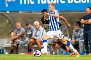 Hertha BSC: Nächster Rückschlag für Herthas Toptalent Arne Maier