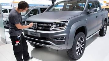Kraftfahrt-Bundesamt : Rückruf für VW Amarok - Problem bei weltweit 200.000 Autos