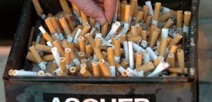 Rauchen: WHO fordert von Deutschland strengere Maßnahmen