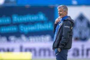 Fußball: Hansa vor Auswärtsauftakt in Saarbrücken: Verhoek fällt aus