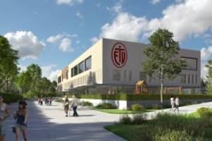 hamburg: eimsbütteler tv feiert richtfest für sein neues sportzentrum