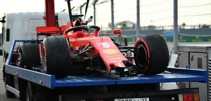 Hamilton auf der Pole, wieder Desaster für Vettel