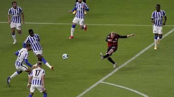 2. Spieltag: Hertha wie Schülerelf - Zeitlupen-Tor macht Eintracht froh